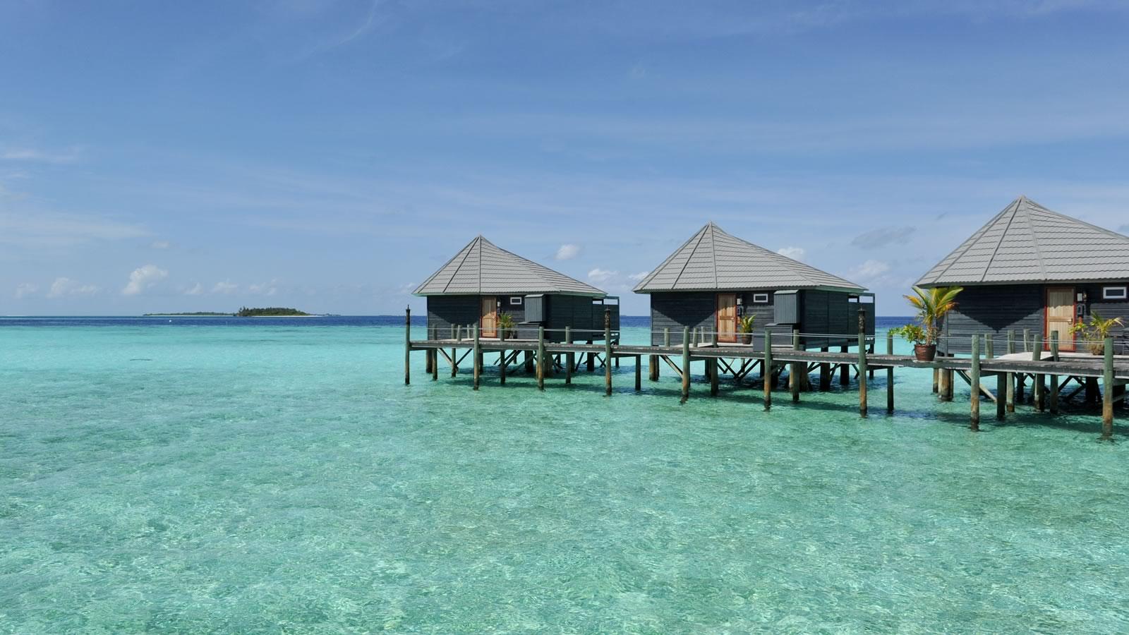 Maldives Luxury water villa