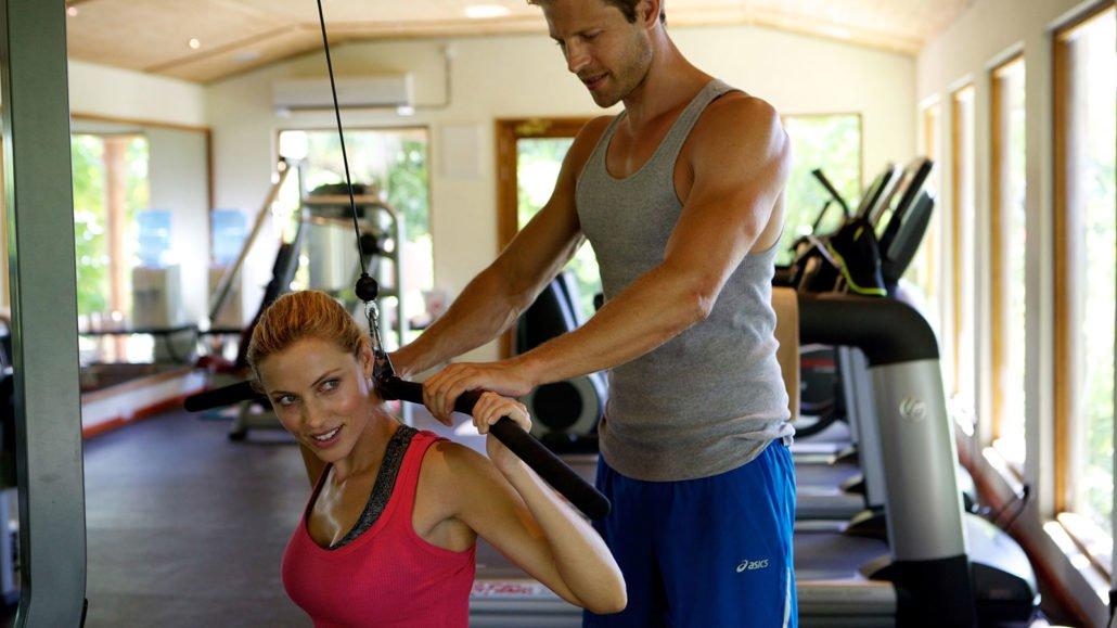 Maldives Resort gym fitness