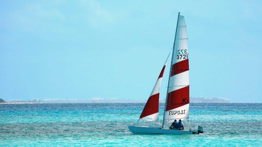 Maldives Watersports sailing
