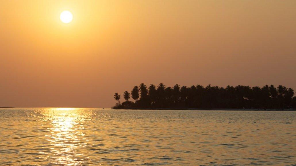 Maldives Excursions sunset