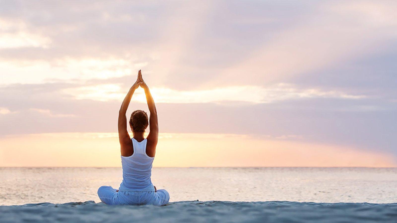 Maldives Beach Yoga Wellness