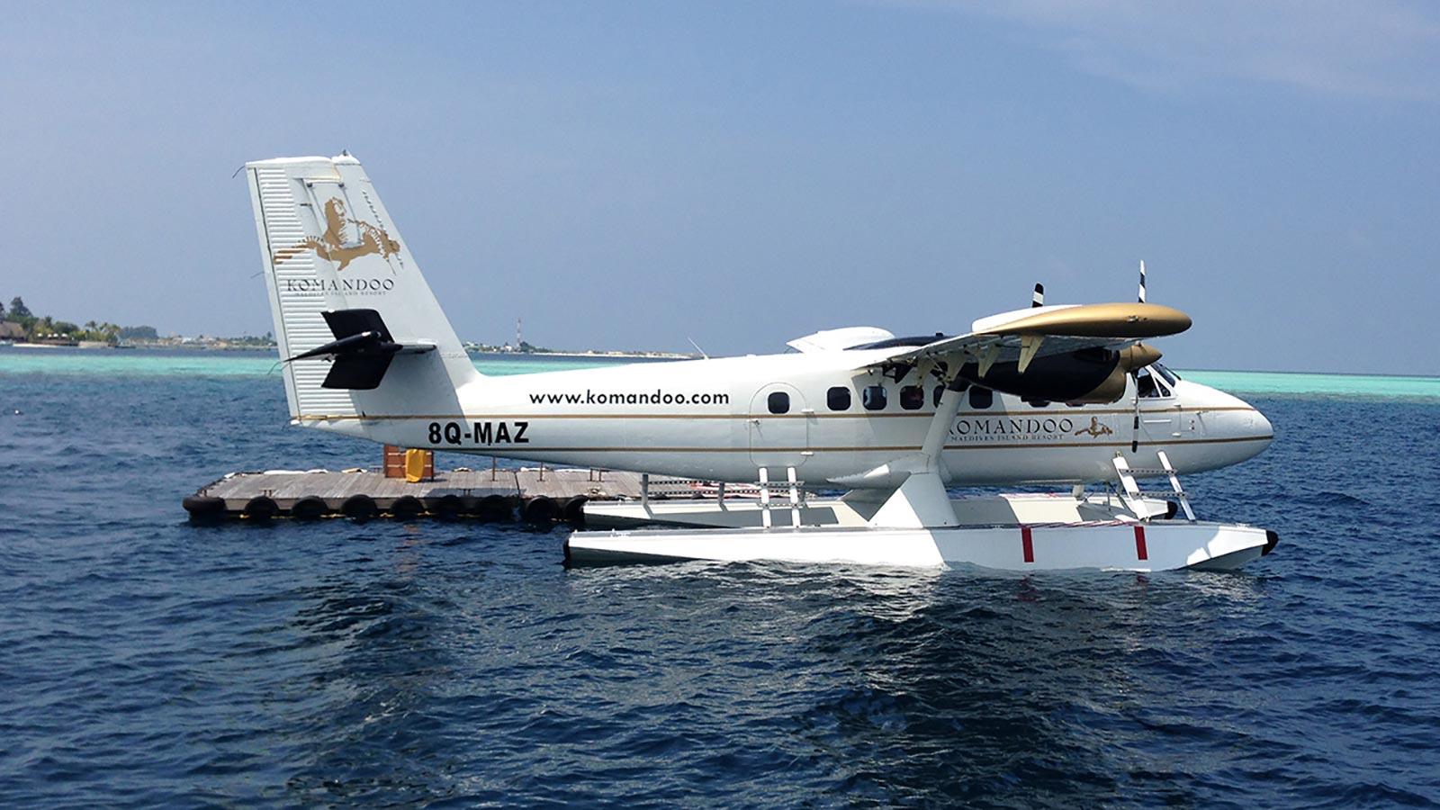 Seaplane Maldives Transfer