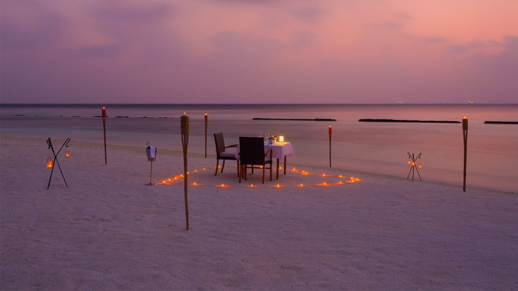 Candlelight Dinner Komandoo Maldives
