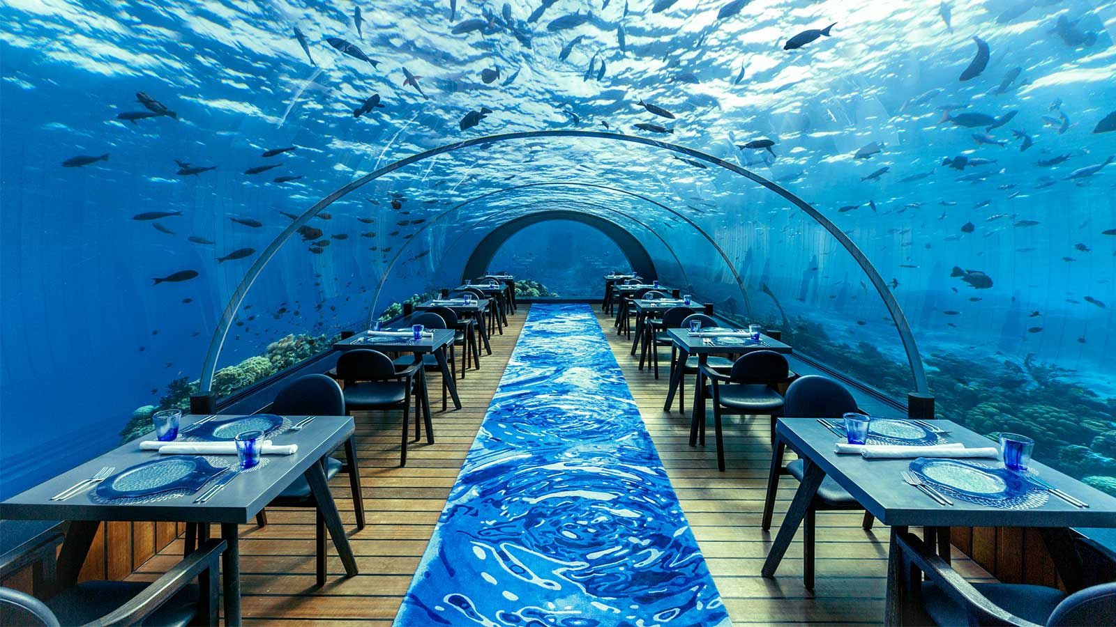 5.8 Undersea Restaurant Hurawalhi Maldives for Komandoo guests