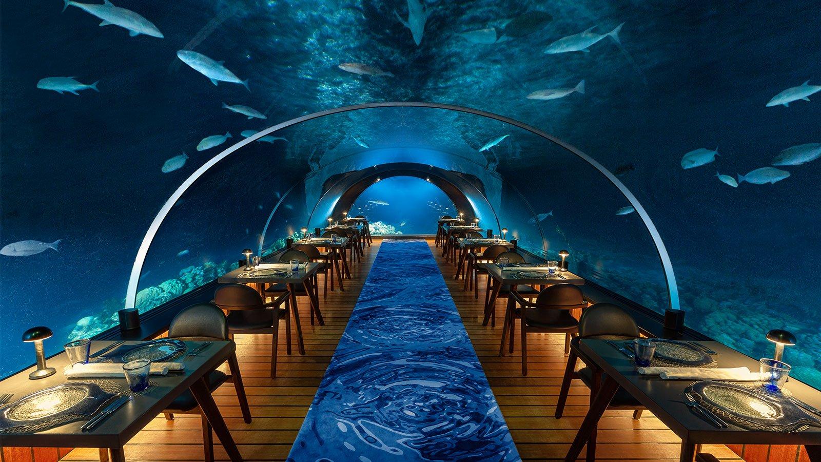 5.8 Undersea Restaurant for Komandoo Maldives Guests