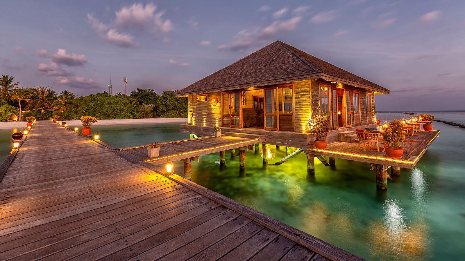 Aqua Restaurant Komandoo Maldives