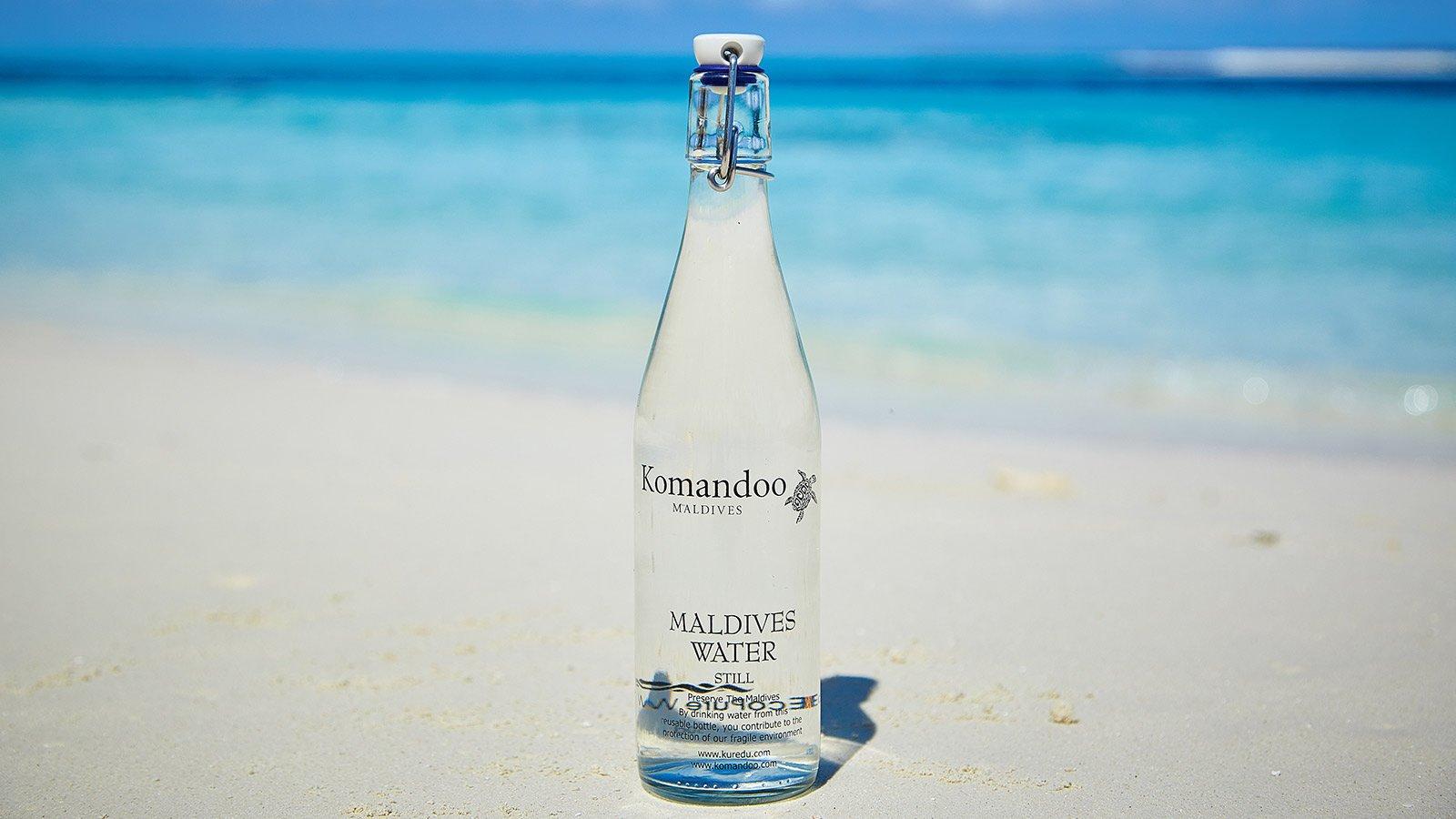 Sustainable Maldives water bottles